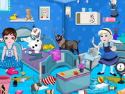 Frozen Babies Room Cleaning