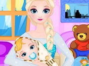 Queen Elsa Give Birth